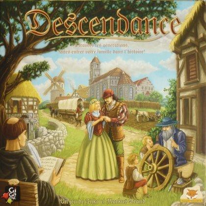 Couverture de la boîte du jeu Descendance - Tric Trac de Bronze 2012