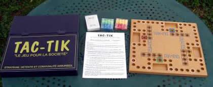 Le jeu jeu de tock tradition domaine public alortujou a y est dagobert facabo schmidt - Comment fabriquer le jeu tac tik ...