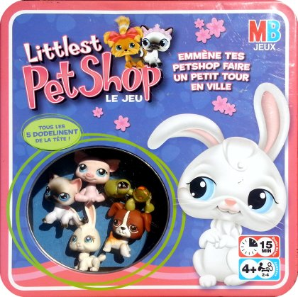le jeu littlest pet shop le jeu non mentionn mb milton bradley 2005 est l escale. Black Bedroom Furniture Sets. Home Design Ideas