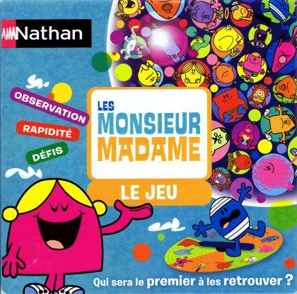le jeu les monsieur madame le jeu non mentionn nathan 2009 est l escale jeux. Black Bedroom Furniture Sets. Home Design Ideas