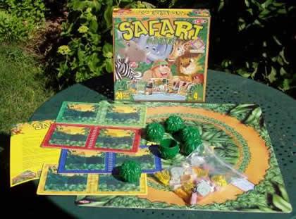 le jeu safari malin reiner knizia tactic 2001 est l escale jeux. Black Bedroom Furniture Sets. Home Design Ideas