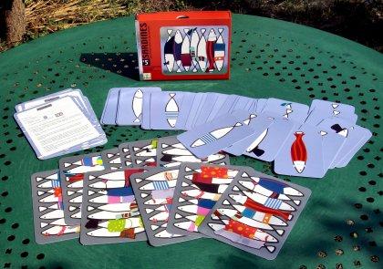 Jeu de Cartes Sardines Djeco : King Jouet, Jeux de cartes Djeco  Jeux de