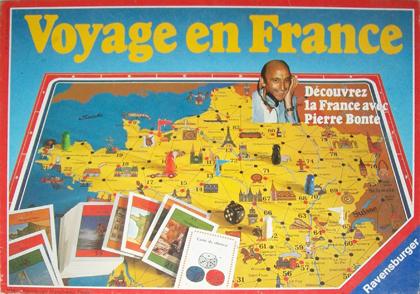 le jeu voyage en france non mentionn ravensburger 1978 est l escale jeux. Black Bedroom Furniture Sets. Home Design Ideas