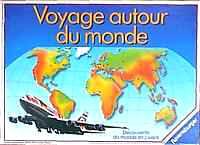 Le jeu voyage autour du monde joh wilh st ndt for Decoration voyage autour du monde